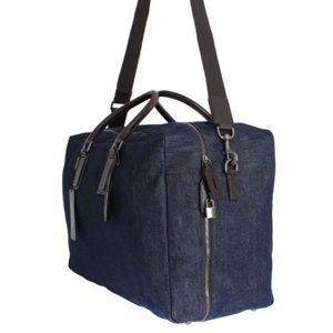 ea3134165266 Dolce   Gabbana Bags - DOLCE   GABBANA BLUE DENIM TRAVEL ORGANIZER BAG